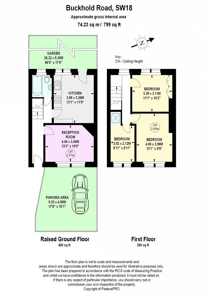 Buckhold Road, Wandsworth, SW18 Floorplan