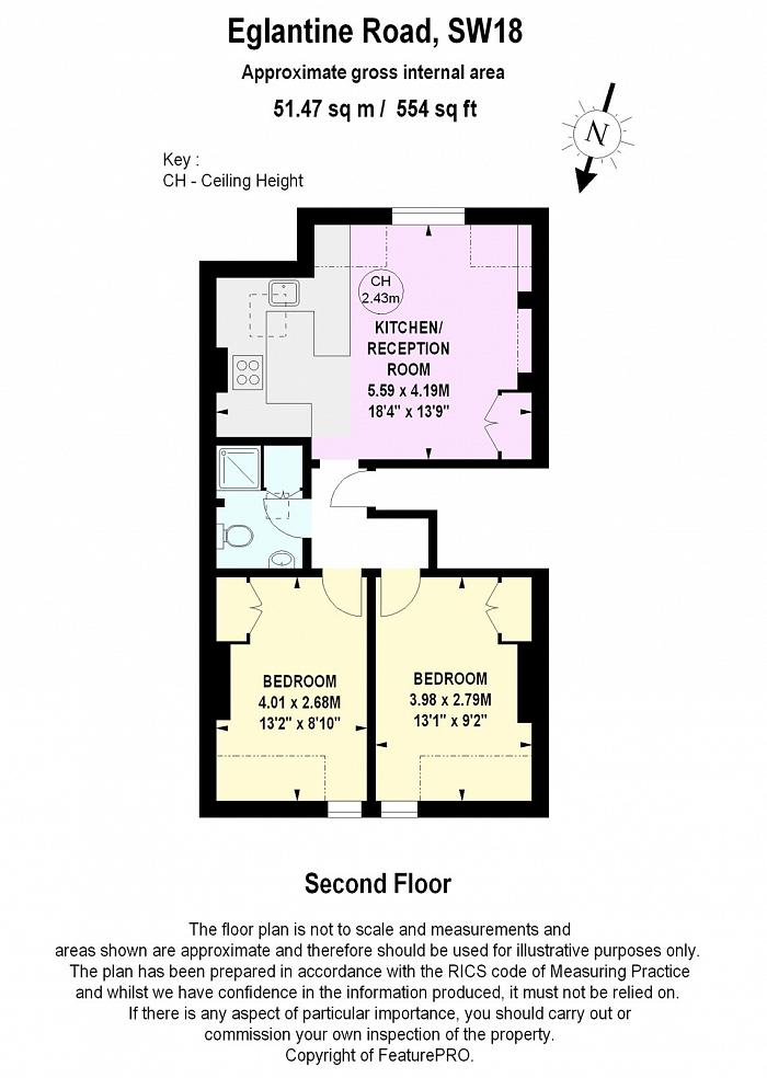 Eglantine Road, Wandsworth, SW18 Floorplan