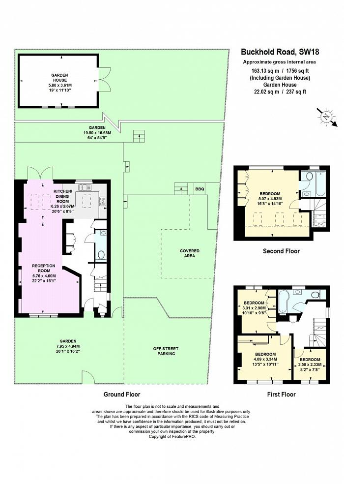 Buckhold Road, West Hill, SW18 Floorplan