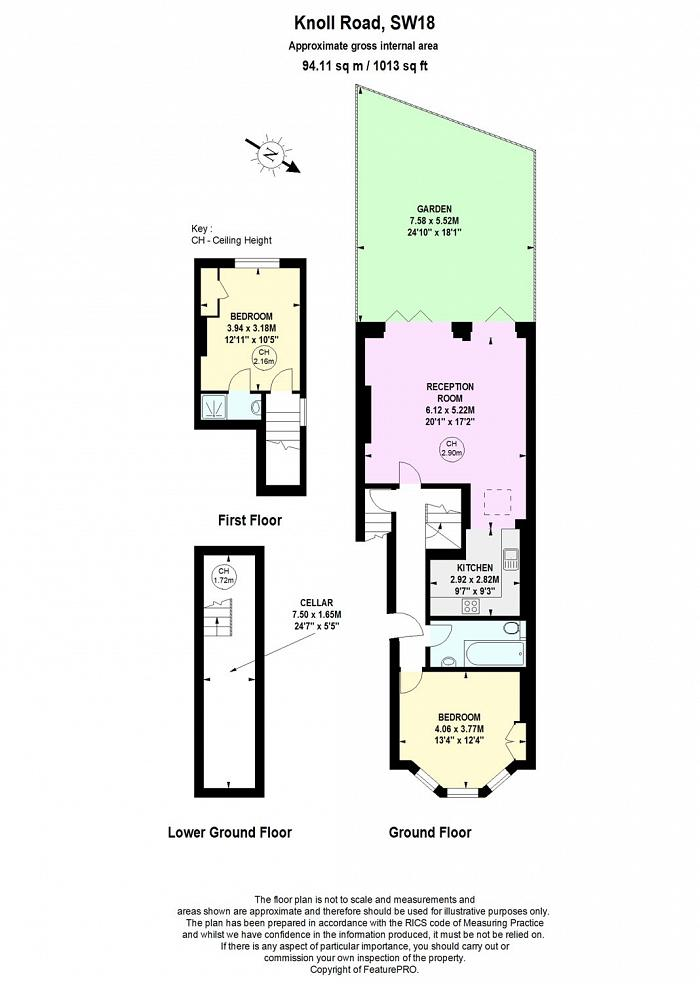 Knoll Road, Wandsworth, SW18 Floorplan