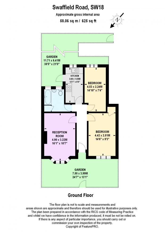 Swaffield Road, Wandworth, SW18 Floorplan