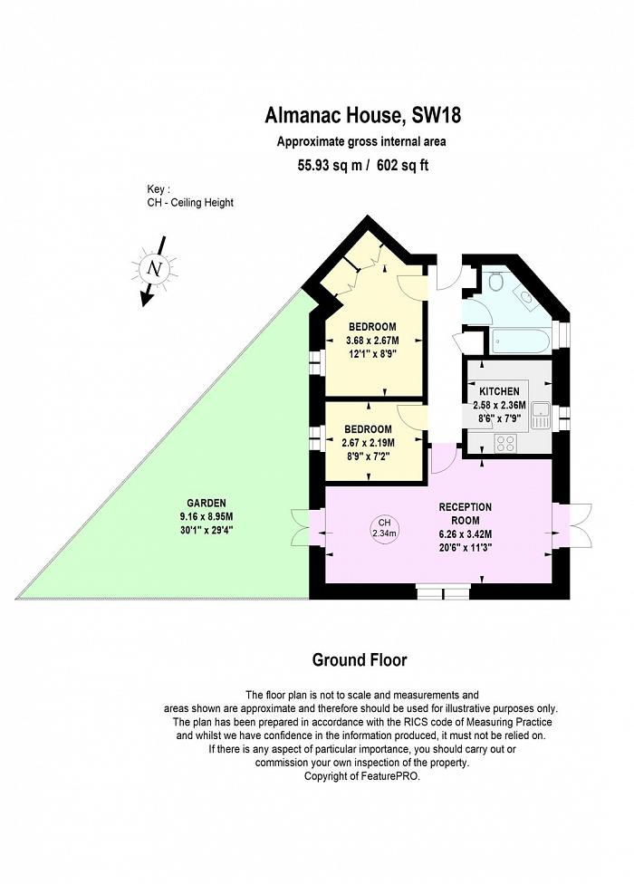 Almanac House, 180 East Hill, SW18 Floorplan
