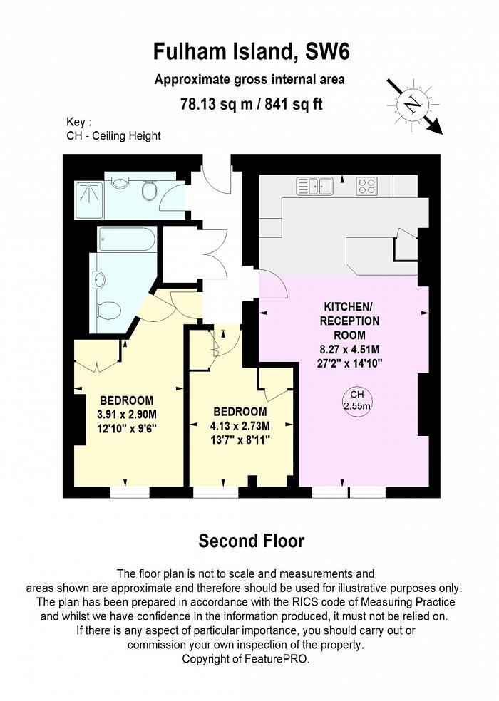 Fulham Island, 4 Farm Lane, SW6 Floorplan