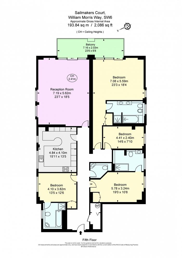 Sailmakers Court, William Morris Way, SW6 Floorplan